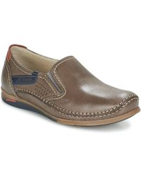 Fluchos - Catamaran Men's Slip-ons (shoes) In Brown - Lyst