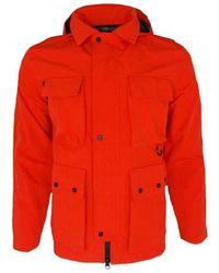 Marshall Artist - 3l Bonded Field Jacket Men's Jacket In Red - Lyst