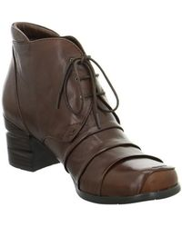 Everybody - 61119g5224 Women's Low Ankle Boots In Brown - Lyst
