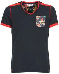 Yurban - Tioutani Men's T Shirt In Blue - Lyst