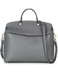 Furla - My Piper M Tophandle Women's Handbags In Grey - Lyst