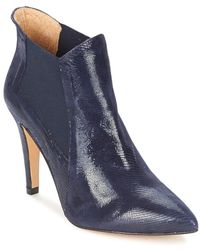 Fericelli - Elis Women's Low Ankle Boots In Blue - Lyst