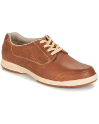 Clarks - Stafford Plan Men's Casual Shoes In Brown - Lyst