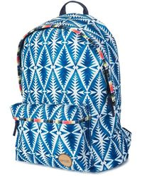 Rip Curl - Beach Bazaar Dome Bag Lbpol4 Women's Backpack In Blue - Lyst