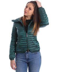 Byblos Blu - 669103 Down Jacket Women Verde Women's Coat In Green - Lyst