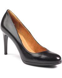Ryłko - 8h200e8waf Women's Court Shoes In Black - Lyst