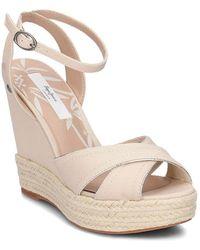 Pepe Jeans - Walker Lenny Women's Sandals In Beige - Lyst