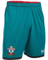 Under Armour - 2017-2018 Southampton Away Football Shorts - Kids Women's Shorts In Green - Lyst