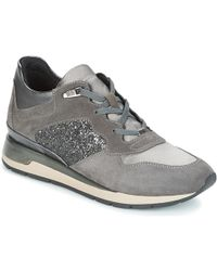 Geox - D Shahira Women's Shoes (trainers) In Grey - Lyst