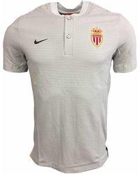 Nike - 2017-2018 Monaco Authentic Grand Slam Polo Shirt (platinum) Women's T Shirt In White - Lyst
