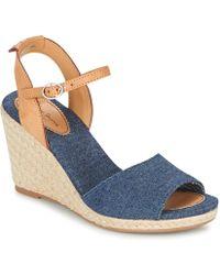 Pepe Jeans - Shark Denim Women's Court Shoes In Blue - Lyst