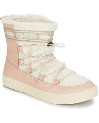 TOMS - Alpine Women's Snow Boots In Pink - Lyst