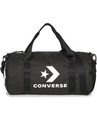 Converse - Sport Duffel Large Women's Sports Bag In Black - Lyst