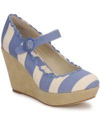 Shellys London - Frankie Women's Court Shoes In Blue - Lyst