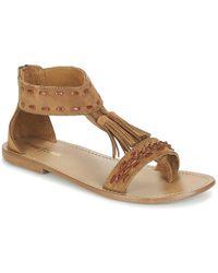 Minnetonka - Carolles Women's Sandals In Brown - Lyst