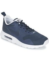 Nike - Air Max Tavas Men's Shoes (trainers) In Blue - Lyst