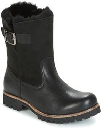Blackstone - Ol05 Women's Mid Boots In Black - Lyst
