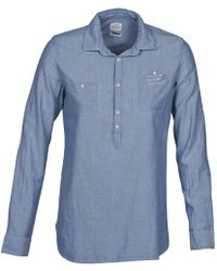 Oxbow - Vakia Women's Shirt In Blue - Lyst