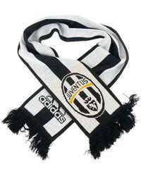 adidas Originals - Kibica Juventus Football Club Unisex Men's Scarf In Black - Lyst
