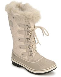 Sorel - Tofino Women's Snow Boots In Grey - Lyst