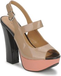 Chinese Laundry - Fiction Women's Sandals In Beige - Lyst