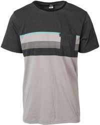 Rip Curl - Camiseta Day Night Tee Ctedk5 Men's Polo Shirt In Black - Lyst