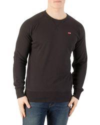 Levi's | Levis Men's Original Icon Sweatshirt, Black Men's Sweater In Black | Lyst
