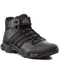 c998f5c3a2b Adidas Cw Ax2 Beta Mid Men s Walking Boots In Black in Black for Men ...