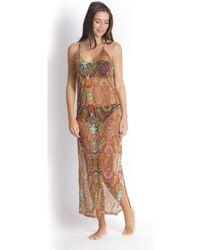 Pain De Sucre - , Beachdress, Kaa Print - Aileen Women's Tunic Dress In Multicolour - Lyst