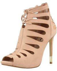 Guess - Fl2ama Lea09 Women's Sandals In Pink - Lyst