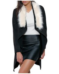 Infinie Passion - Coat 00w059716 Women's Coat In Black - Lyst