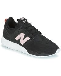 best cheap 5504e dac3c New Balance Wl574mtc Women's Shoes (trainers) In Black in ...