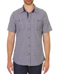 Chevignon - Meryl Men's Short Sleeved Shirt In Blue - Lyst