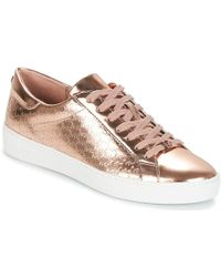 d61b0242da18 MICHAEL Michael Kors Colby Sneakers in White - Save 4% - Lyst