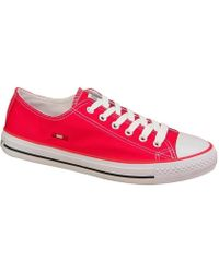 Smith's - 1044red Women's Shoes (trainers) In Red - Lyst
