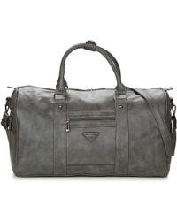 Nanucci - Fulvia Women's Travel Bag In Grey - Lyst