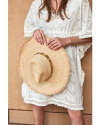 Amenapih - Straw Hat , Nature/gold - Cyprus Women's Hat In Beige - Lyst
