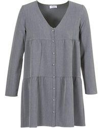Betty London - Joguret Women's Dress In Grey - Lyst
