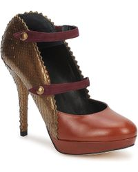 Karine Arabian - Phoenix Women's Court Shoes In Brown - Lyst