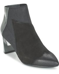 United Nude - Zink Mid Women's Low Boots In Black - Lyst