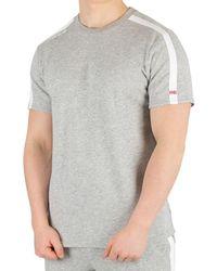 2bbea848bd44 Calvin Klein - Men's Logo T-shirt, Grey Men's T Shirt In Grey -