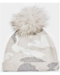 Max & Moi - Hat Hatprint White / Off White Woman Autumn/winter Collection Women's Hat In White - Lyst