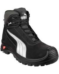 Puma Lace-up Leather Winter Boots in Black for Men - Lyst 7362e5183