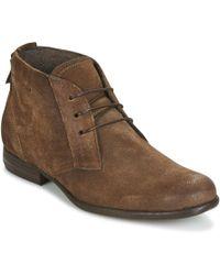 Dream in Green - Kassab Men's Mid Boots In Brown - Lyst