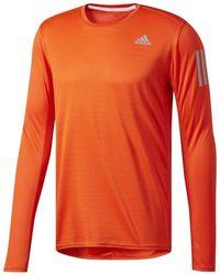 adidas - Response Tee Men's In Orange - Lyst