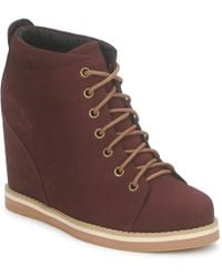 No Name | Wish Desert Boots Women's Low Boots In Red | Lyst