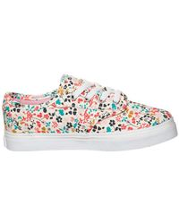 Vans - Z Atwood Low Floral Multi Women's Shoes (trainers) In Multicolour - Lyst