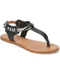 So Size - Arwey Women's Sandals In Black - Lyst