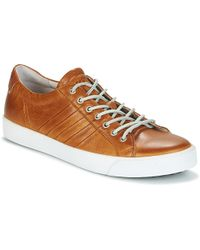 Blackstone - Pm58 Men's Shoes (trainers) In Brown - Lyst