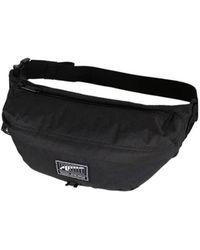4745eda85590 Puma Originals Flat Portable Bag in Black for Men - Lyst